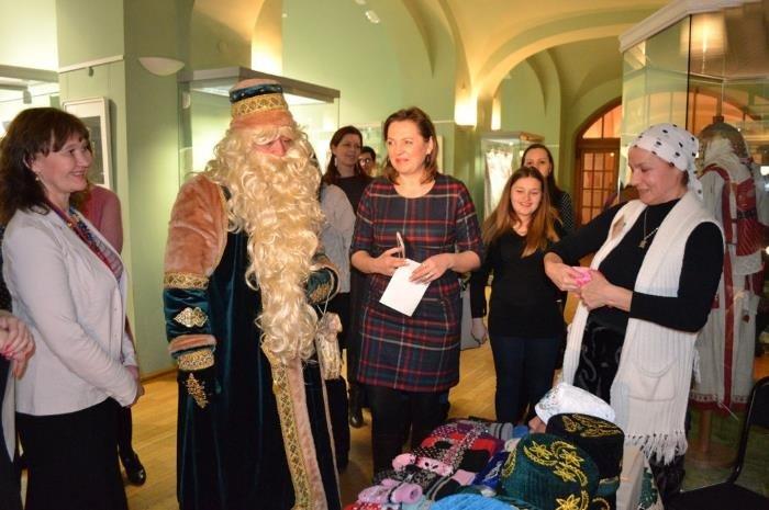 Ярмарка новогодних подарков «Музейный базар» 2017