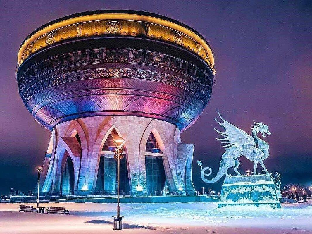 Новогодние мероприятия «Зима впарках» 2018/19