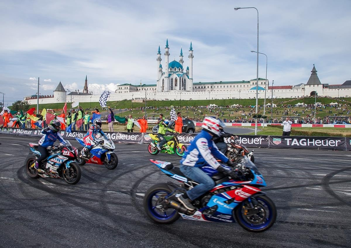 Шоу «Kazan City Racing» 2018