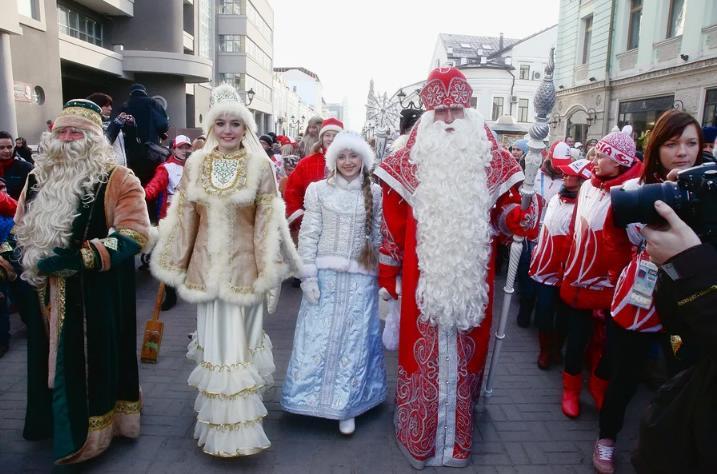Шествие Дедов Морозов 2019