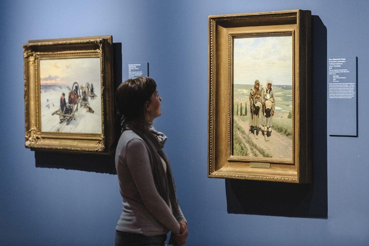 Выставка «Передвижники: 1871–1902. Изсобрания Третьяковской галереи»