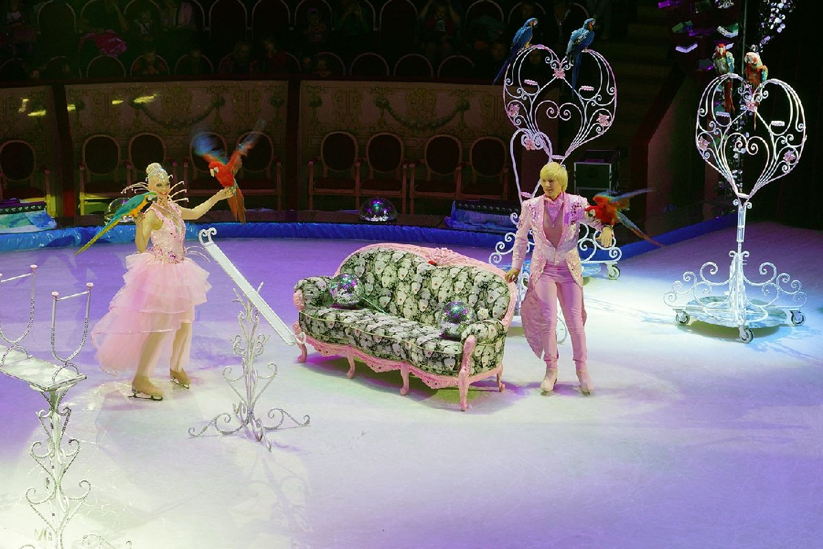 Шоу «Цирк нальду «Айсберг» 2018