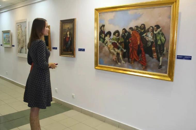 Выставка «Никас Сафронов. Избранное»