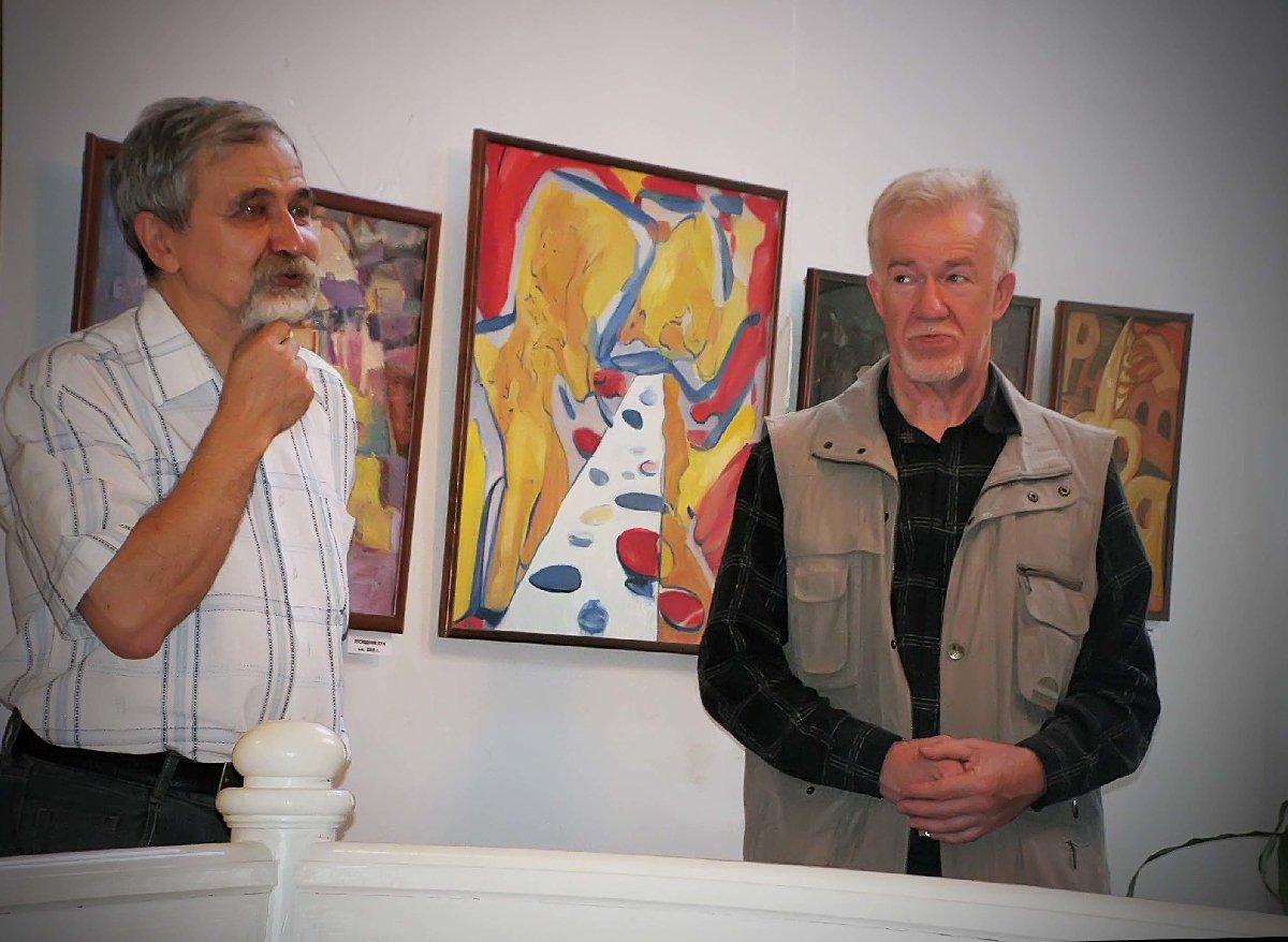 Выставка Роберта Гайсина