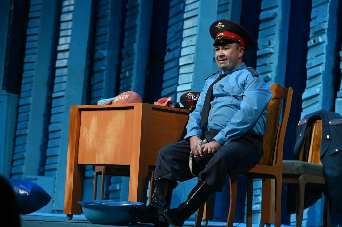 Спектакль «Полиционер»