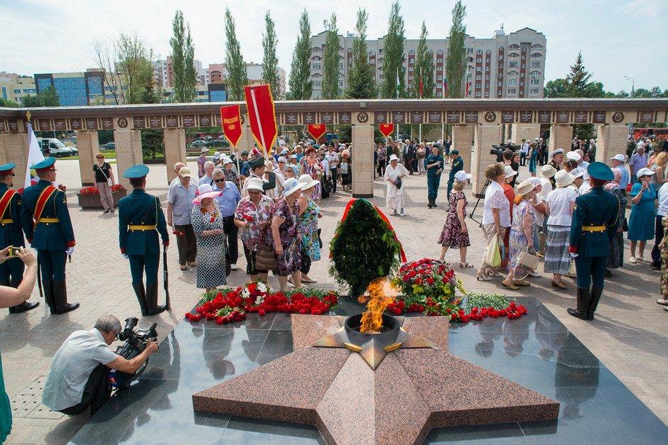 День памяти искорби впарке «Победы» 2018