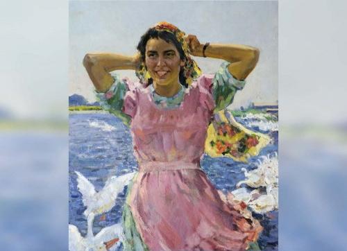 Выставка к110-летию содня рождения Виктора Куделькина